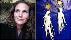 Natalie Renee Larose was one of the first designers in Canada to work in her niche. She designs 'inspired' feathered accessories for her busin. Tassel Necklace, Dream Catcher, Dreamcatchers