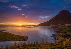 Landscape Photos, Norway, Celestial, Mountains, Sunset, Nature, Travel, Outdoor, Outdoors