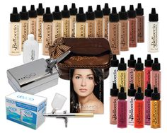 airbrush makeup kits for professionals