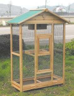 THE WOODEN BIRD AVIARY
