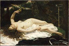 DONNA CON PAPPAGALLO Coubert- 1866- olio su tela- Metropolitan Museum of Art, New York