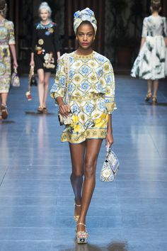 fashionvictime: Karly Loyce for Dolce & Gabbana...