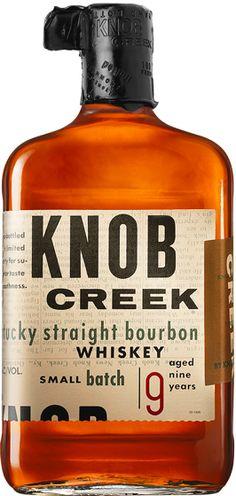 Whiskey 30/40 : Knob Creek Kentucky Straight Bourbon Whiskey
