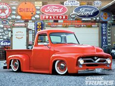 1955 f100 | 1955 Ford F 100 Front