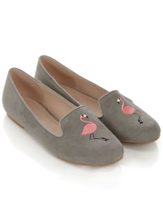 Felicity Flamingo Slippers #Accessorize