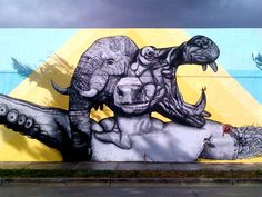 Puerto Rican artists Juan Fernandez and Alexis Diaz Mural