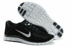 Nike Free RUN 4.0 V3 Winter Mens Shoes Black