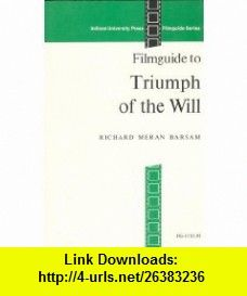 Jerry reader 06u96wm on pinterest triumph of the will filmguide 9780253393203 richard barsam isbn 10 fandeluxe Ebook collections
