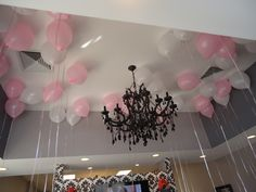Balloons filled with