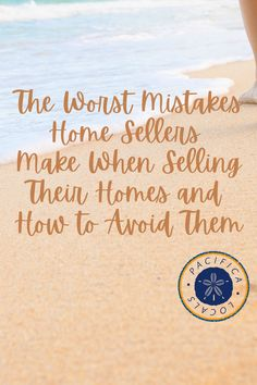 Selling homes demands precision in creating and implementing a plan of action. As a home seller, your realtor should guide you through the process, telling you what to expect all along the way. The worst mistakes home sellers make are typically the same ones and can easily be avoided by following the guidelines that are tried and true. Home Selling Tips, Selling Your House, Landscaping Company, First Time Home Buyers, Real Estate Marketing, How To Apply, How To Make, Home Buying, Mistakes