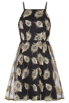 6131d95206 Louche Lux Flight Peacock Dress