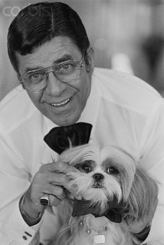 Jerry Lewis and friend