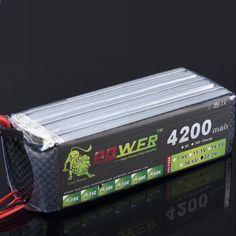 बैटरी मॉडल 22.2V लिथियम बैटरी 4200MAH बड़ी क्षमता 35 सी रिमोट कंट्रोल हेलीकॉप्टर और