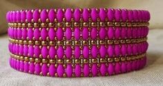 "Linda's Crafty Inspirations: Tutorial for the ""Mystery SuperDuo Bracelet"""