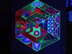 psytrance string art - Google Search