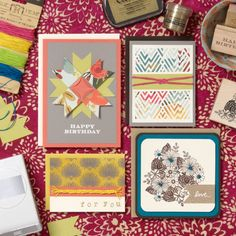 Fall Card Making: Colorful Paper Tapestry Workshop 9/13