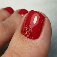 Here are the 60 most eye-catching nail looks we found for you this autumn. #Pedicure