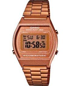 Casio Ladies' Rose Tone Digital Watch.