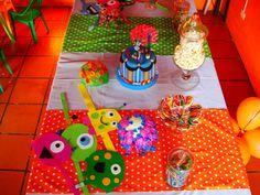 Mesa dulce cumple infantil