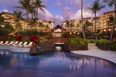 Montage Kapalua Bay (One Bay Drive) Set in picturesque Kapalua Bay, this oceanfront 24-acre resort boasts spacious suites with free WiFi and full kitchens. An outdoor pool, restaurant and spa and wellness centre are offered on site. #bestworldhotels #hotel #hotels #travel #us #hawaii