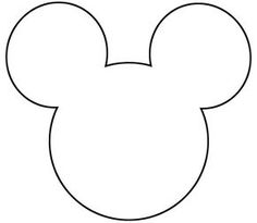 free printable mickey mouse silhouette - Google Search