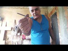 Como cortar vidros com prego. - YouTube