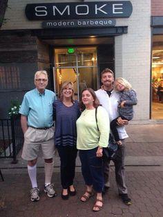 Fun time with family at Smoke! #brettlark