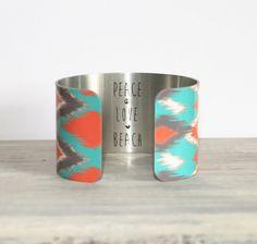 PHOENIX Cuff Bracelet by PeaceLoveBeach.