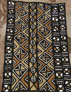 African mudcloth.