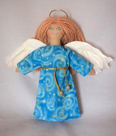 Angel Doll  Art Doll  Toy  Religious Doll  Handmade Doll