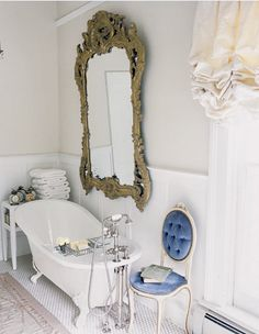 I like the mirror and the chair