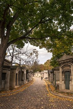 Paris - Pere Lachaise Cemetery - I went to this cemetery last year...very beautiful!