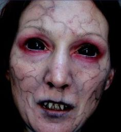white ghost with blood makeup - Google Search