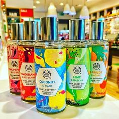 Body Shop At Home, The Body Shop, Hair Mist, Body Mist, Mists, Lime, Body Products, Natural Beauty, Shopping