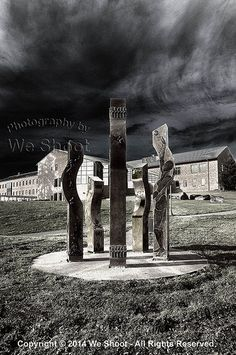 Scene From WSU Campus In Vancouver - colorized black and white from http://weshoot.com | Flickr - Photo Sharing!