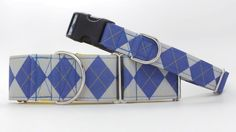 House Argyle Ravenclaw Dog Collar Martingale Buckle or Collar And Leash, Ravenclaw, Louis Vuitton Damier, Belt, Trending Outfits, Unique Jewelry, Creative, Handmade Gifts, Pattern