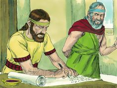 The book of God's laws is found in the temple and read to King Josiah. (II Kings 21:19-23, II Chronicles 33:21 - 35:27): Slide 30