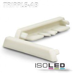 Endkappe für Profil TRIPPLE-AB weiss / LED24-LED Shop