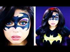 "A fun, Batman-inspired makeup look, featuring deep purples and rich golds, as well as a black mask for fun! A perfect look for the upcoming holiday season! Want to know me more? Come hang out with me: FACEBOOK: http://www.facebook.com/CharismaStarTV TWITTER: http://www.twitter.com/CharismaStarTV INSTAGRAM: ""CharismaStar"" PRODUCT LIST: Lime Cr..."