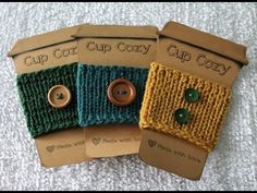 Coffee Cozy on The Addi Express – Awesome Knitting Ideas and Newest Knitting Models Addi Knitting Machine, Loom Machine, Circular Knitting Machine, Knitting Machine Patterns, Addi Express, Finger Crochet, Mug Rug Patterns, Loom Knitting Projects, Small Sewing Projects