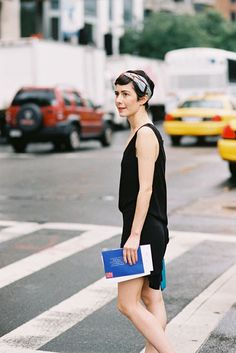 Vanessa Jackman: New York Fashion Week SS 2013....Violaine