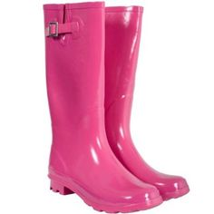 Pink Wellies!