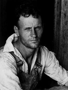 Alabama Tenant Farmer, 1936  photographer, Walker Evans