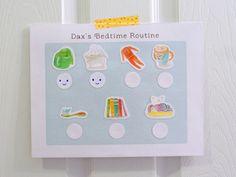 Free Printable & Customizable Toddler Routine Chart | Hellobee