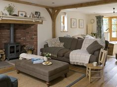 Image result for inside.norfolk.post and beam living room