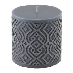 IKEA - VINTER 2015, Unscented block candle, The candle has the same beautiful color during its entire burn time, because it is colored through.