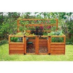 Amazon.com: Raised-Bed Gardening System - 8ft. x 8ft., Model# 6309: Home Improvement