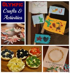 Olympic Crafts & Activities | Houston Moms Blog {Fun and EASY ways to celebrate the Olympics with your kids!}