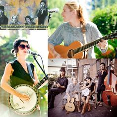 """The Blackberry Bushes Stringband is a high energy, soulful, Americana quartet. The """"Bushes"""" are a band of songwriters with a strong Bluegrass and old-time bend. They have remained loyal to their Ozark, Appalachian, and Mississippi River roots and added just a twist of West coast indie-rock."""