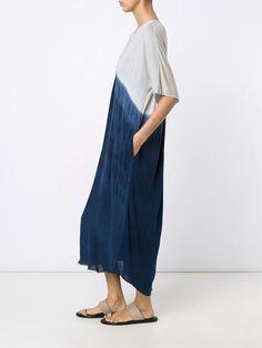 dip-dye kaftan dress